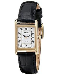 SeikoSUP250 analog 皮革 黑色 SUP250 watches
