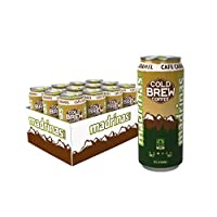 Madrinas Coffee 焦糖公平貿易冷泡咖啡, 15液體盎司(444ml) (12件裝)