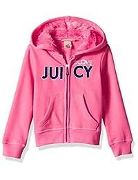 Juicy Couture 女童连帽衫 粉红色 4T