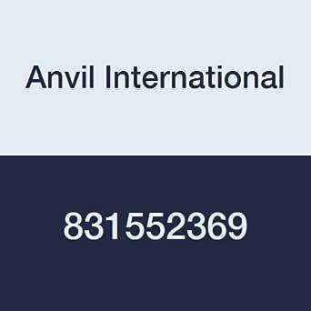 Anvil International 0831552369 进口超重型镀锌钢焊接管奶嘴,10.16 厘米 x 12.70 厘米