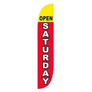 LookOurWay 开放周六羽毛旗,12 英尺