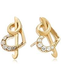 [festaria bijou SOPHIA SV980/925立体耳环 (镀黄金) 16649-14168095