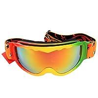 OBAOLAY 欧宝莱 儿童滑雪镜 H035红/蓝/黑(亚马逊自营商品, 由供应商配送)