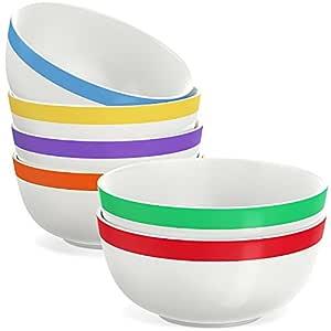 父 SKU dinnerware White/Multicolor Bowl Set
