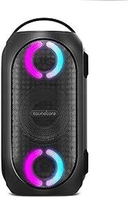 Anker Soundcore Rave 迷你便携式派对音箱,巨大 80W 音效,完全防水,USB 充电器,节拍灯显示,应用,派对游戏,户外,尾门廊,海滩,露营