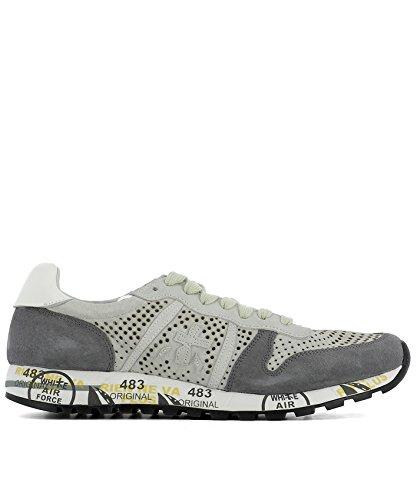 PREMIATA PREMIATA 男人 ERIC2115 灰色 山羊皮 运动鞋 / 意大利直邮【亚马逊海外卖家】