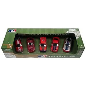 MLB Los Angeles Angels Top Dog 5 piece Diecast Gift Set