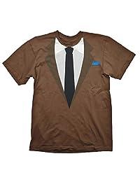 payday 2达拉斯西装 T 恤棕色棉质