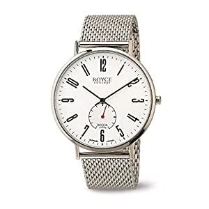 Boccia 中性款模拟石英手表不锈钢镀表带 3592-03