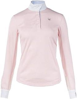 Horze Blaire 女士防紫外线冰修身长袖长衬衫,