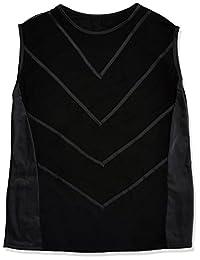 Svenjoyment 男式内裤 21609781701 SVENJOYMENT 网眼衬衫,潜水风格,黑色,S 码,(Nero 001)