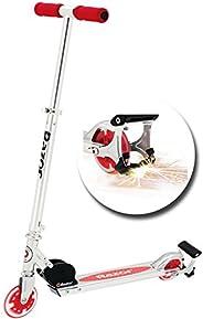 Razor Spark+ 滑板车,带发光轮,红色