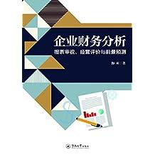 企业财务分析—报表审视、经营评价与前景预测
