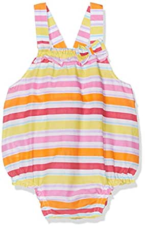 United Colors of Benetton 女婴粗布裤 Multicolour (Righe Multicolor 78m) One size (Manufacturer size: 56)