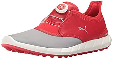 Puma 男式 Ignite 无铆钉运动圆盘鞋 Quarry-high Risk 红色 11