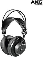 AKG Pro Audio K245 开放头戴式录音棚耳机,轻巧,可折叠