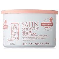 Satin Smooth Deluxe Cream Pot Wax, 14 Ounce