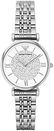 Emporio Armani Women's Quartz Watch with Stainless-Steel S