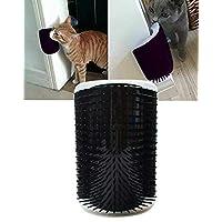UPREE 自梳妆机,猫自梳妆机壁挂角按摩新郎猫自*刷黑色