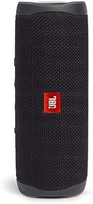 JBL FLIP5 蓝牙扬声器 IPX7防水/ USB Type-C充电/搭载无源散热器/便携式 黑色 JBL JBLFLIP5BLK