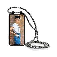 Artwizz HangOn 手机壳 专为 [iPhone Galaxy Huawei] 设计 – 保护壳作为手机链带和卡位悬挂3203-2879 iPhone 11 Pro 黑色