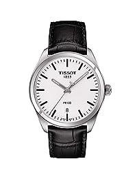 TISSOT 天梭 瑞士品牌 PR100系列石英男表 石英男士手表 T101.410.16.031.00