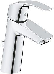 GROHE 高仪 Eurosmart 浴室龙头-单把面盆龙头,带陶瓷滤芯 23322001,镀铬,M号