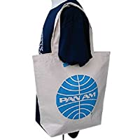 Pan Am (パンナム) 手提包 白 37×36×11cm