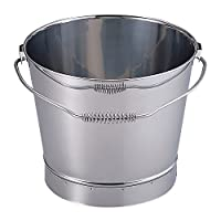 MT 18-8 不锈钢水桶 银色 20L -