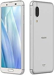 SHARP 免SIM卡 AQUOS sense3 SH-M12SHM12S S(シルバーホワイト)