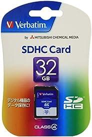 三菱化學媒體 Verbatim SDHC存儲卡 32GB Class4 SDHC32GYVB2