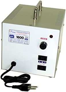 日章工业 变形金刚SK系列(电压增强・羽绒两用型) AC240V⇔AC100V1600W SK-1600EX