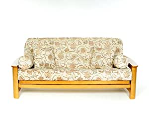 Lifestyle Covers Lacey Full Size Futon Cover