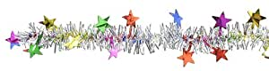 FR Metallic Star Garland (multi-color) Party Accessory (1 count) (1/Pkg)