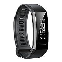 Huawei Band 2/ 智能手表可连续使用21天 ※ 功能金属机身防水50m (日本正规代理店) 黑