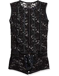 Svenjoyment 内衣 21502981711 SVENJOYMENT 男士蕾丝黑色-M 码(Nero 001)