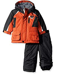 London Fog 男童夹克和滑雪裤 2 件套雪服,