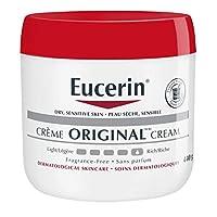 Eucerin Original Healing Soothing Repair Creme, 16 Ounce (Pack of 2)