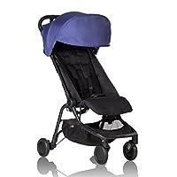 Mountain buggy nano V2 旅行婴儿推车 蓝色 适用于0-4岁