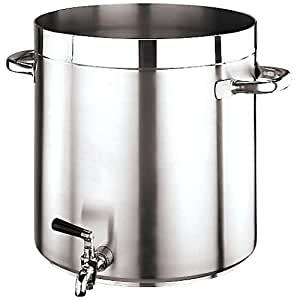 "Paderno World Cuisine ""Grand Gourmet"" Stainless-steel 74-Quart Stockpot with Faucet"