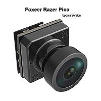 Foxeer FPV 相机 Razer Pico 1200TVL CMOS 1.8mm M7 镜头支持 3.8v-16v 输入 1/3 大传感器 适合 TinyWhoop RC 赛车无人机