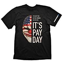 Payday 2 T 恤达拉斯面具,S(电子游戏)