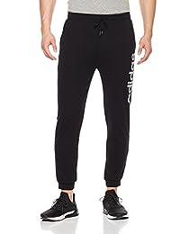 adidas NEO 阿迪达斯运动生活 男式 NEO 针织长裤 CV9328 黑/深银灰 M CE TP 2