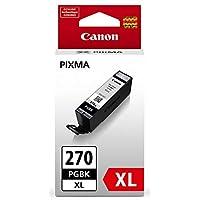 佳能 PGI-270 XL 颜料黑色墨水适用于 TS9020 打印机、TS8020 打印机、TS6020 打印机、TS5020 打印机、MG7720、MG6820、MG6821、MG6822、MG5720、MG5722、MG5721