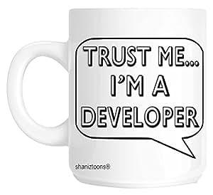 shaniztoons Trust Me I'm A Developer 礼品杯