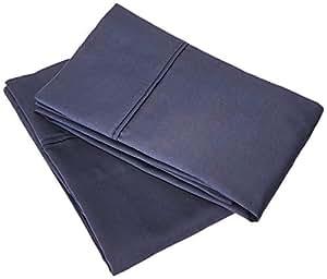 枕套 2 件 - * 棉 400 支特大号/标准尺寸 纯色