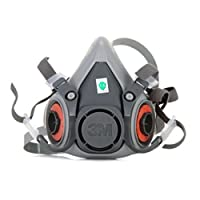 【自营领券75折,至1.31】3M 6200 半面型防护面具 面罩 中号 需搭配其他配件一起使用 1个(亚马逊自营商品 由供应商配送)