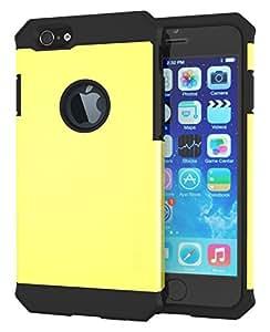 zerolemon Apple iphone 64.7英寸保护套–Razor 盔甲碳壳复合保护套–高级适用于苹果 iPhone 64.7英寸 [ 180天保修 ] 黄色