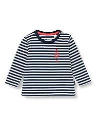 Sanetta 婴儿男孩 Shadow Blue 幼童 T 恤套装