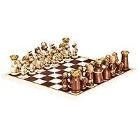 Thun - 收藏象棋板 - 手绘陶瓷踏板和木架